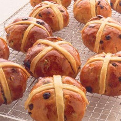 Breadmaker Hot Cross Buns