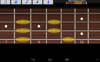 Screenshot of Bass Guitar Tutor Pro