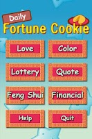 Screenshot of Daily Fortune Cookie[FREE]