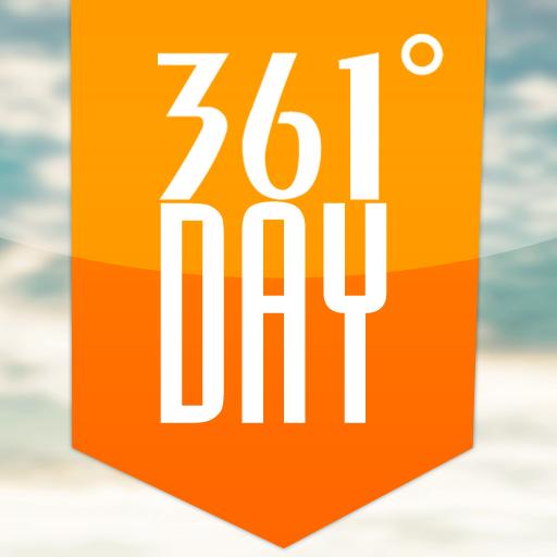 361°DAY LOGO-APP點子