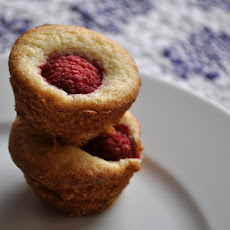 Raspberry Lemon Mini Muffins