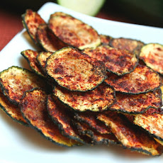 Zucchini Chips with Smoked Paprika
