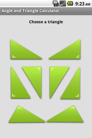 Angle and Triangle Calculator