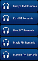 Screenshot of Romania Radio