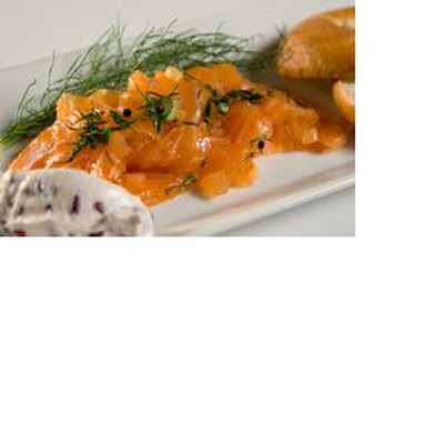 Homemade Citrus Salmon Gravlax