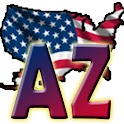 USA Arizona clock flag icon