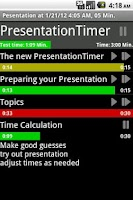 Screenshot of PresentationTimerPro