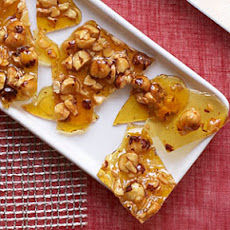 Candied Hazelnut Brittle