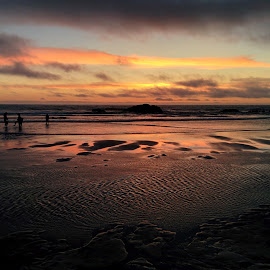 Lincoln City by Tez Hartney - Landscapes Beaches
