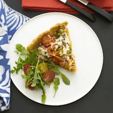 Heirloom Tomato and Mozzarella Tart Recipe