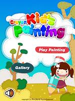 Screenshot of Crayon Kid's Painting 2