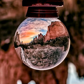 A new view on a classic sunset! by Kara Marcus - Artistic Objects Glass ( colorful, mood factory, vibrant, happiness, January, moods, emotions, inspiration )