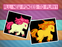 Screenshot of My Little Tiny Uni Pony Run