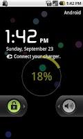 Screenshot of Wallpaper widget