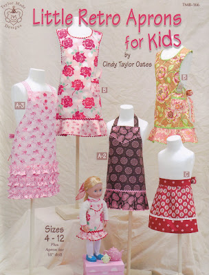 Little Retro Aprons for Kids