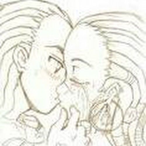 itz_mee_falen rated a drawing of the boondocks riley and anjelika kiss an a jotly