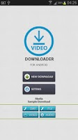Screenshot of Video Downloader For Android