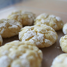 Gooey Butter Cookies (recipe by Mathew Rice of Nightwood Restaurant)
