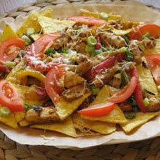 Wannabe Savory, Crispy and Colourful Chicken Nachos
