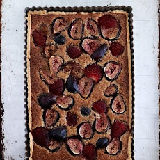 Fig & Strawberry Tart