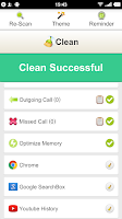 Screenshot of Clean History - Optimize