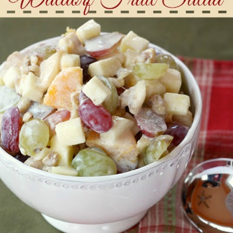 Waldorf Fruit Salad