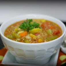 Hearty Vegetable Quinoa Chili