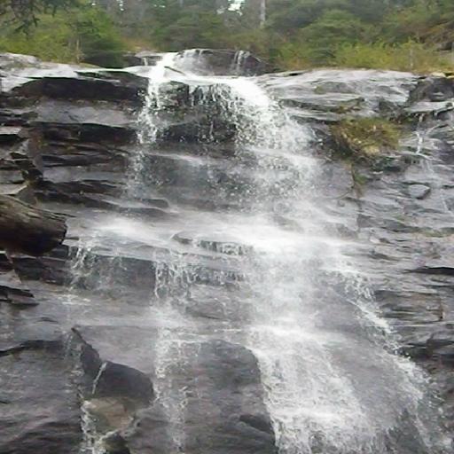 娱乐のアラスカの滝を逃れる LOGO-記事Game