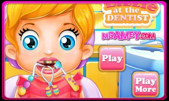 Screenshot of Baby Lizzie Dentist Games