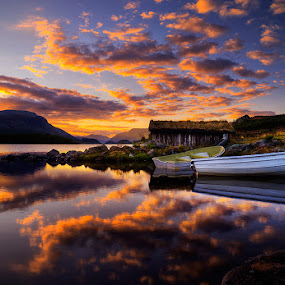 Summernight by John Aavitsland - Landscapes Sunsets & Sunrises