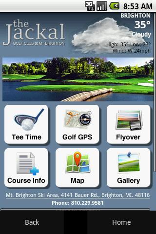 The Jackal Golf Club