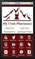 Screenshot of My Utah Pharmacy