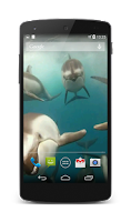 Screenshot of Dolphins Live Wallpaper