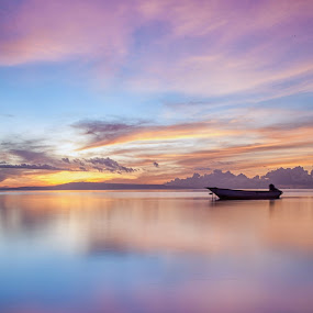 Another Morning from Mertasari Beach  by Aloysius Alphonso - Landscapes Waterscapes
