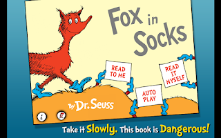 Screenshot of Fox in Socks - Dr. Seuss
