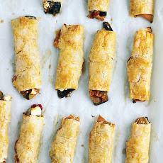 Ratatouille Phyllo Wraps