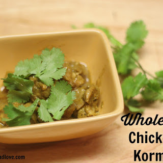 Whole30 Chicken Korma