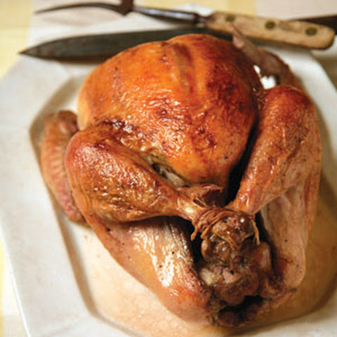 Brined and Roasted Turkey