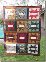 Friendship Block Swap Quilt 2007