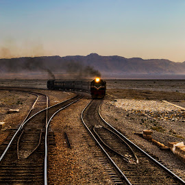 Train by Sikander Khan - Transportation Trains ( train, tracks )