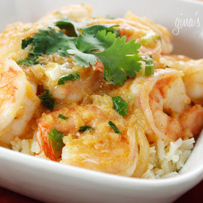 Red Thai Coconut Curry Shrimp