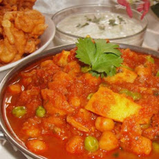 Rezika's Chicken & Vegetable Curry