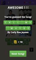 Screenshot of 4 Pics 1 Song - Guess The Song