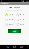 Screenshot of Fantacalcio Android
