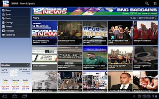 Screenshot of WBNG for Tablet