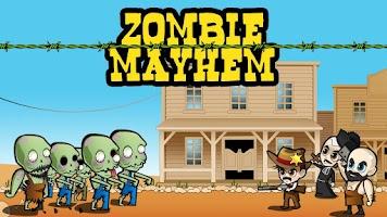 Screenshot of Zombie Mayhem