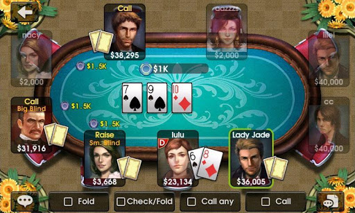 dh-texas-poker-texas-holdem for android screenshot
