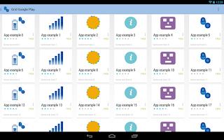 Screenshot of CardsLib Demo