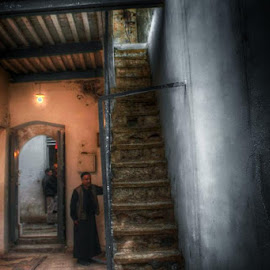old city by Khuloud Elzwai - City,  Street & Park  Street Scenes
