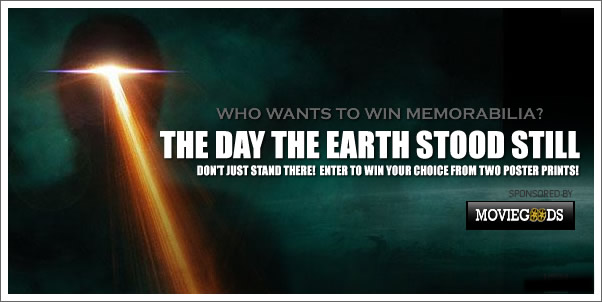 Win The Day the Earth Stood Still Poster + More Winners Announced